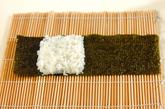わんちゃんデコ巻き寿司の作り方2