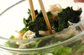 ホウレン草とエノキのお浸しの作り方2
