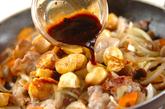 豚バラ肉と麩の中華炒めの作り方3