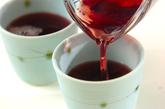 ブドウのトロトロゼリーの作り方2