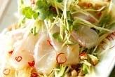 鯛のエスニックサラダ