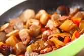 豚肉筑前煮風の作り方3