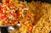照り焼き味ジャンバラヤの作り方3