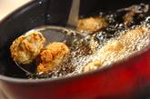 レンコンのおろし揚げの作り方2