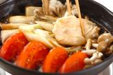トマトすき焼き鍋の作り方2