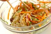 中華風春雨サラダの作り方1
