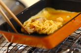 レンコンのシャキシャキ卵焼きの作り方2