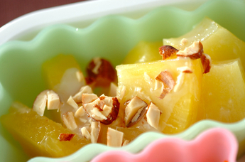 パイナップルのコンデンスミルク風味