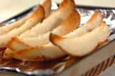 スティックガーリックトーストの作り方1