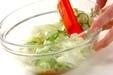 キャベツの梅サラダの作り方3