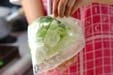 キャベツの梅サラダの作り方1