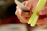 塩もみ野菜のミックス漬けの下準備3