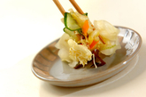 塩もみ野菜のミックス漬けの作り方3