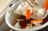 揚げ出し豆腐の野菜あんかけの作り方2