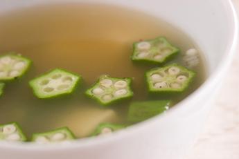 オクラころころスープ