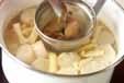 麩と大根のみそ汁の作り方2
