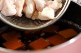 ささ身と豆腐のお吸い物の作り方1