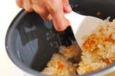 フキご飯の作り方3