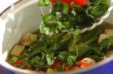 素麺添えタイカレーの作り方3