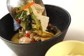 素麺添えタイカレーの作り方5
