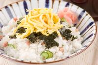 簡単タラコちらし寿司