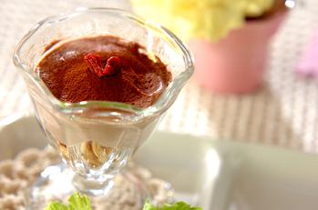 水きりヨーグルトのティラミス風デザート