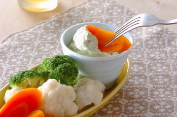 温野菜&アボカドディップ