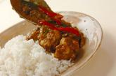鶏手羽元のココナッツカレーの作り方4