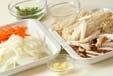 豆腐の野菜あんの下準備2