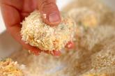 桜エビと豆腐のコロッケの作り方2