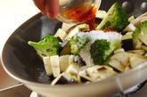 ナスとブロッコリーのピリ辛炒めの作り方2