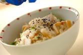 里芋入り炊き込みご飯の作り方3