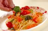 フレッシュトマトパスタの作り方4