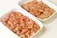 鶏むね肉のセサミ揚げの下準備1