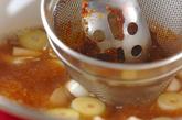 梅みそ汁の作り方1