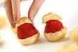 イチゴシューロールの作り方6