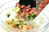 サラダ寿司の作り方3