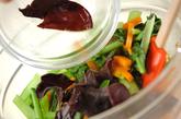 小松菜の中華和えの作り方2