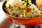 ニンニク焼き飯の作り方1