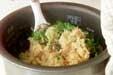 カキの炊き込み御飯の作り方3