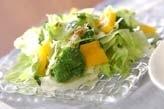 レタスの彩りサラダ