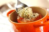 トマトの香ばしパン粉焼きの作り方1