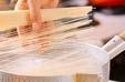 七夕梅おろし素麺の作り方1