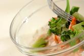 エビとブロッコリーのサラダの作り方2