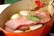 豚肉ジャガイモの蒸し煮の作り方1