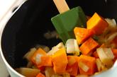 マカロニ入りトマト煮の作り方1