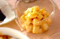 長芋のレモンしょうゆ漬け
