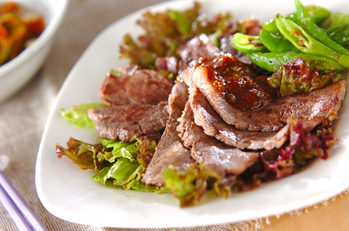 焼き肉サラダ仕立て