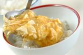 豆腐と長芋のふんわり蒸しご飯の作り方2