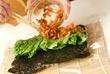 豚キムチライスロールの作り方4
